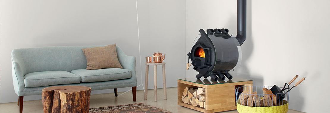 Po les bois agc solution de chauffage et climatisation - Amenagement autour d un poele a bois ...